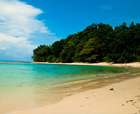Image of Karmatang Beach, Mayabunder Island, Andaman Islands.