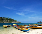 Image of Wandoor, the  Mahatma Gandhi Marine National Park, Port Blair, Andaman and Nicobar Islands.